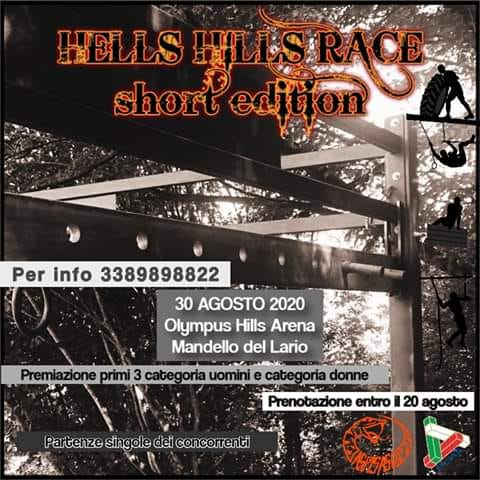 Hells Race Short Edition 30 Agosto