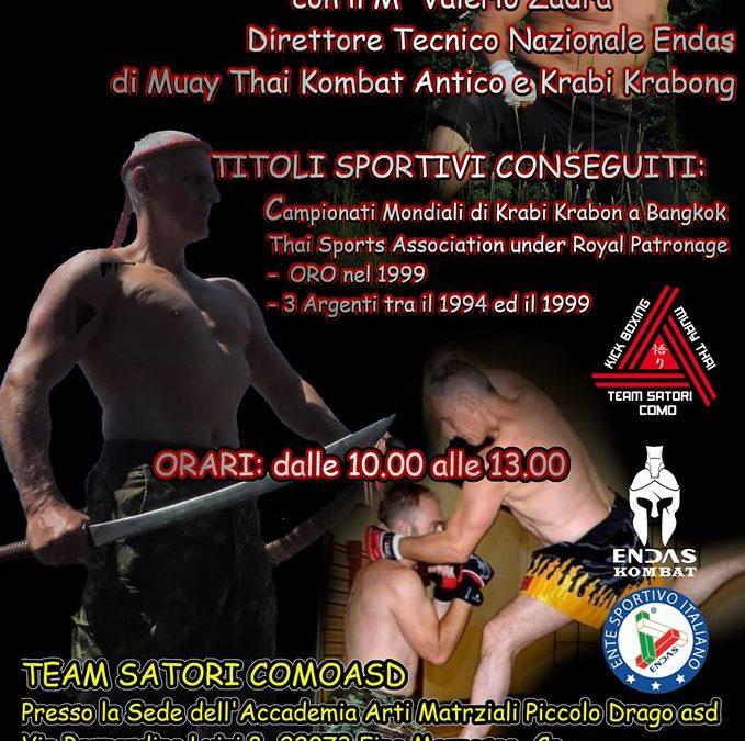 Workshop di Muay Thai Antico e Krabi Krabong 20 Settembre
